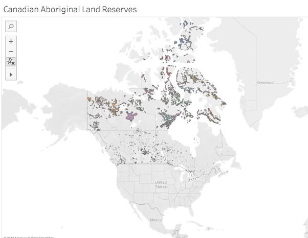 Canadian Aboriginal Reserves